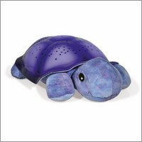 Twilight Turtle magic LED night light - purple - by cloud b
