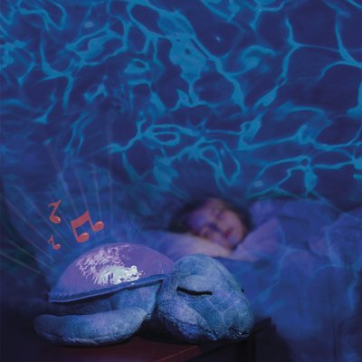 Tranquil Turtle magic LED night light - ocean - by cloud b