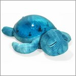Tranquil Turtle magic LED night light - aqua - by cloud b