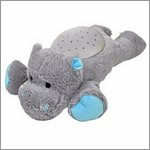 Twilight Buddies magic LED night light - hippo - by cloud b
